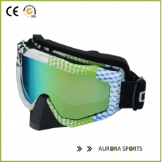 China Adult bicycle motorcycle cross-country skis snow blue glasses QF-M321 factory