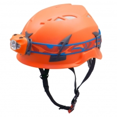 China Sport Climbing Helmet With Streamlight Fire Helmet Light AU-M02 factory