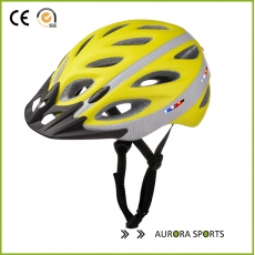 China Star Led Light Bicycle Helmet, in-mold bike helmet with intergrated LED light factory