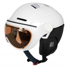 China Superb snow helmet with goggle factory