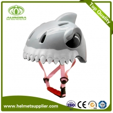 China Cute 3D Animal Children Bicycle Helmet with LED light factory