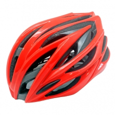 China high quality carbon fiber helmet, bicycle helmet with carbon fiber parts factory