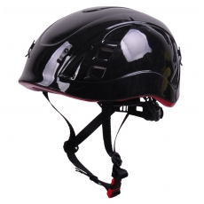 China in-mold climbing helmet, light weight mountaineering helmets AU-M01 factory