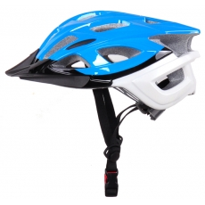 China wholesae price in-mold cross country helmets with white bottom Dirt Bike Helmet AU-BM02 factory