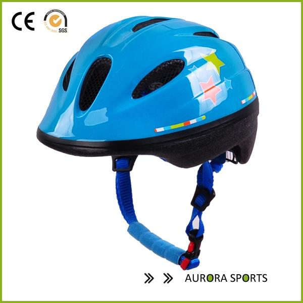 b247e05c62c AU-C02 Custom Children Cycle Helmet with Beautiful Pattern kids painting bike  helmet China helmet ...