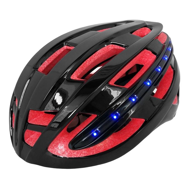 Aurora Ru0026D New LED Light Road Bike Helmet With High Capacity Li Polymer  Quality Battery AU R6
