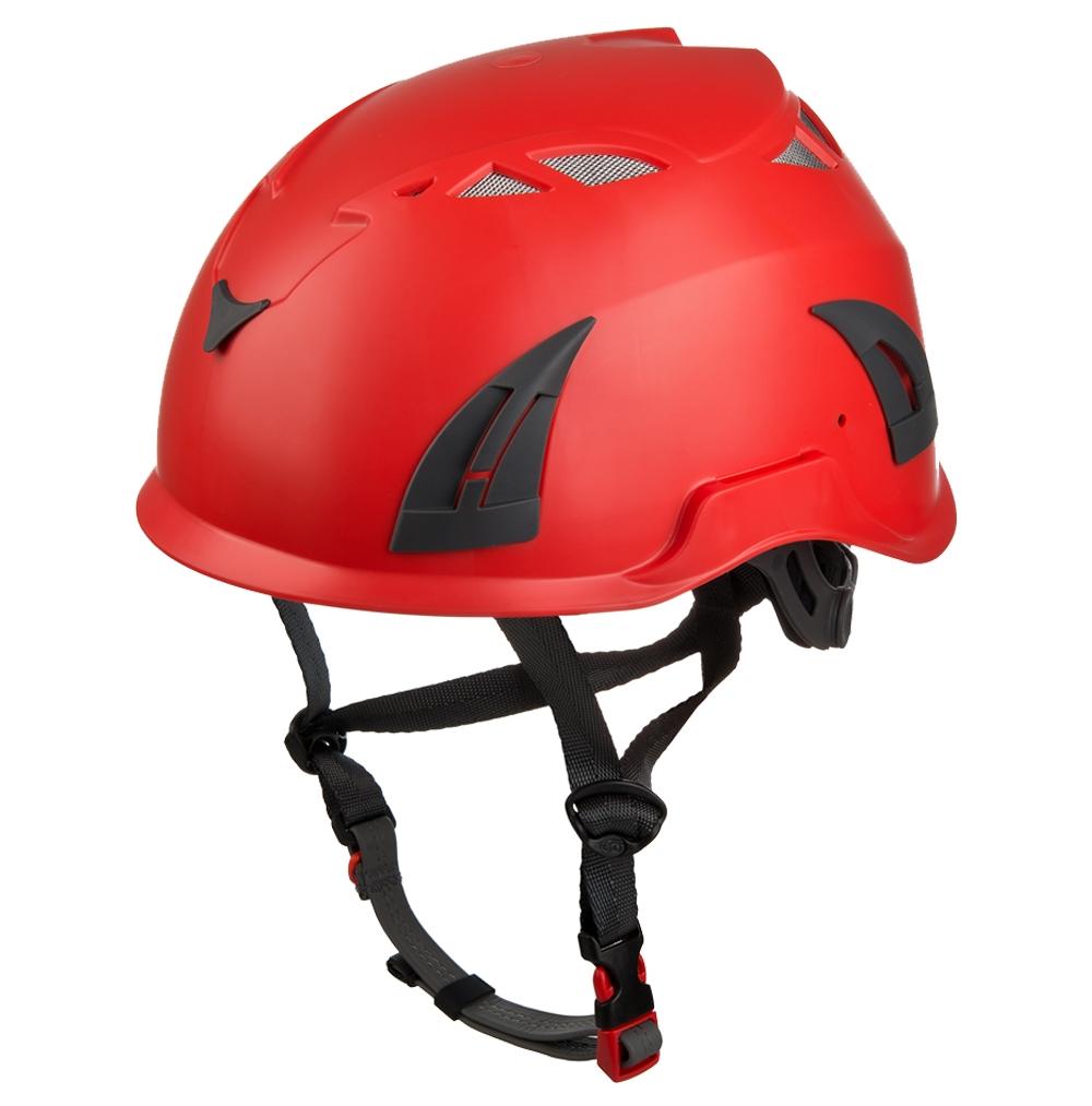 Outdoor PPE caving safety helmet with waterproof LED light ...