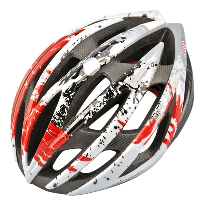 Popular Red Carbon Fiber Safety Cycle Helmet