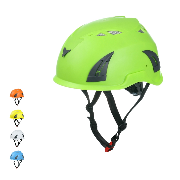 Sport Climbing Helmet With Stream Light Fire Helmet Light