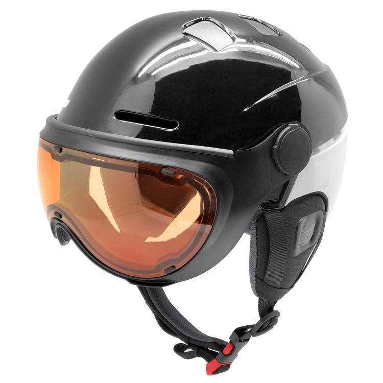 Superb Snow Helmet With Goggle