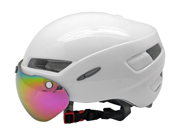 Dirt Bike Helmet With Visor >> funny TT bike helmets with magnet visor, aero cycle helmet reviews AU-T02