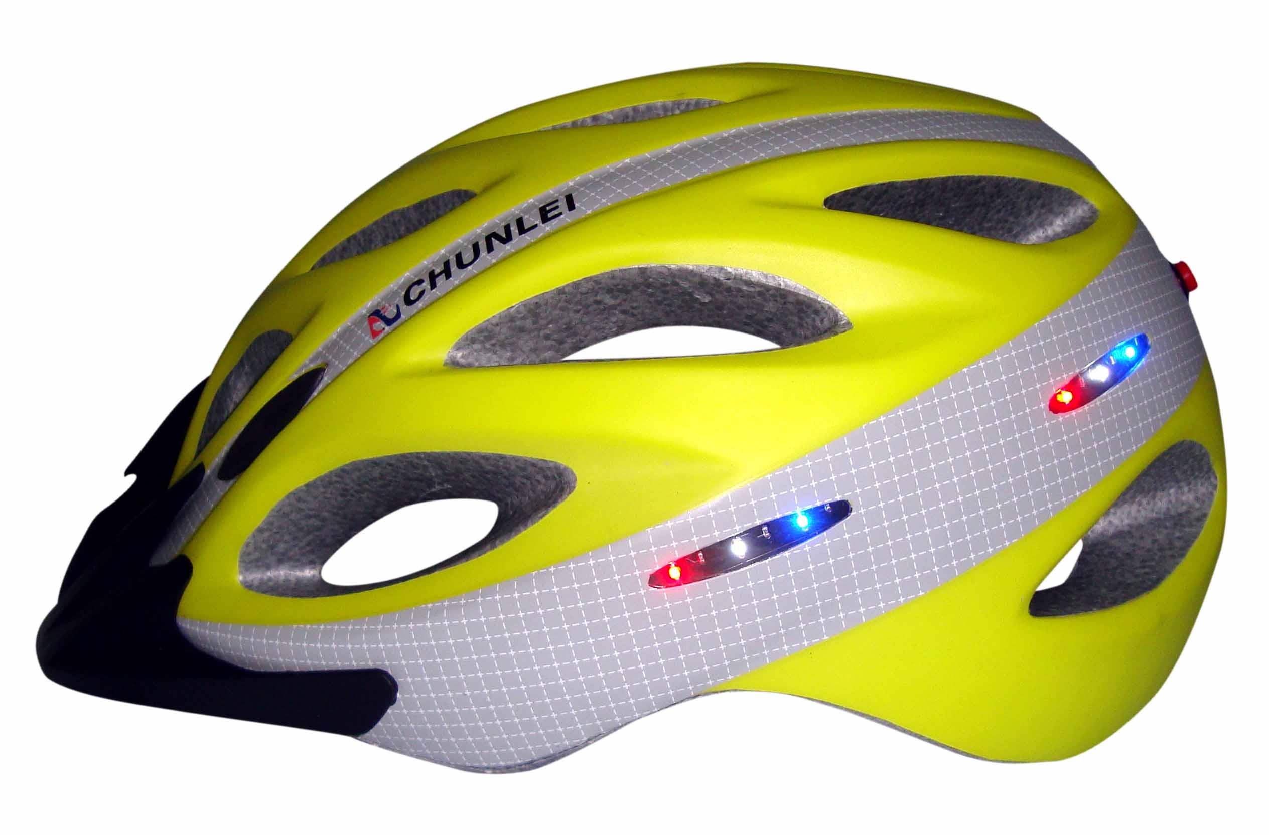 In Mold Bike Helmet Rear Light Cycle Helmets With Built