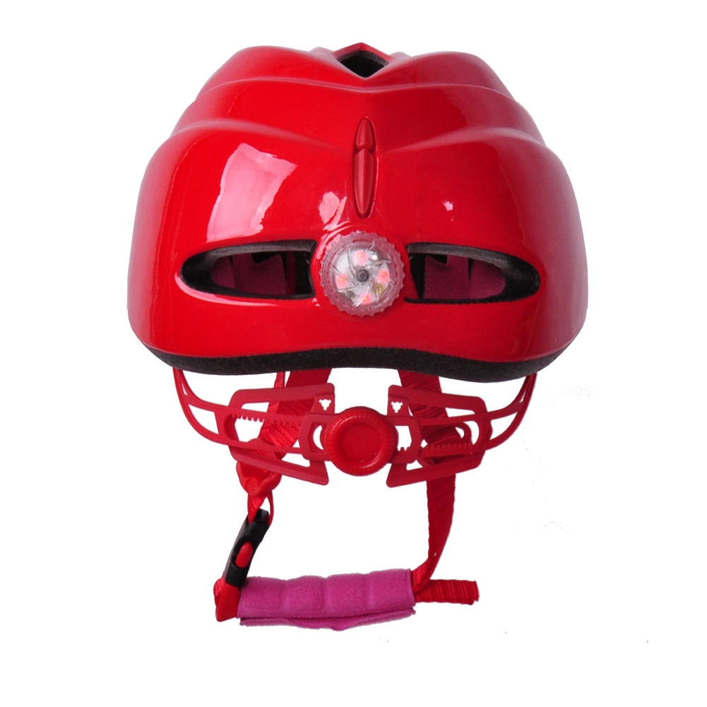 Lovely kids racing helmets, LED kids quad helmets AU-C04